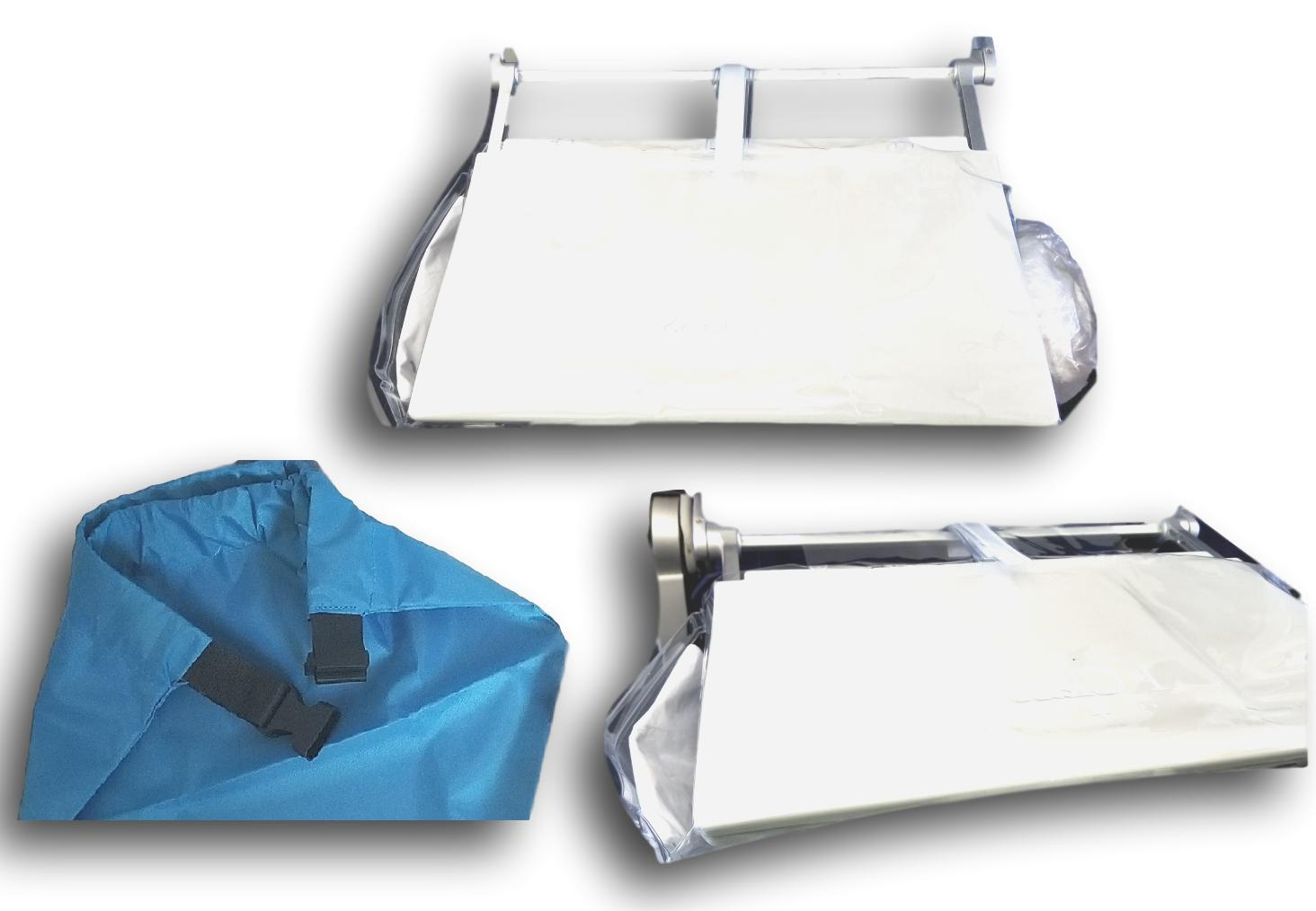 travel accessory plane tray table cover pockets