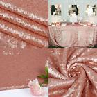 """Balsacircle TRLYC 50X50"""" Square Sequin Tablecloth For Weddi"""