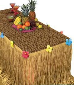 Amscan Tropical Hawaiian Summer Luau Transform-a-Table Decor