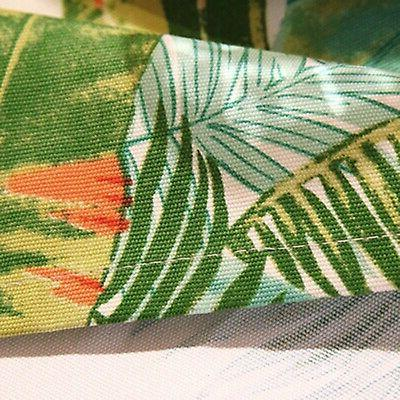 ColorBird Tropical Leaves Tablecloth Cotton Table for Ki... New