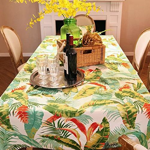 ColorBird Cotton Table for Kitchen Tabletop Linen Decoration