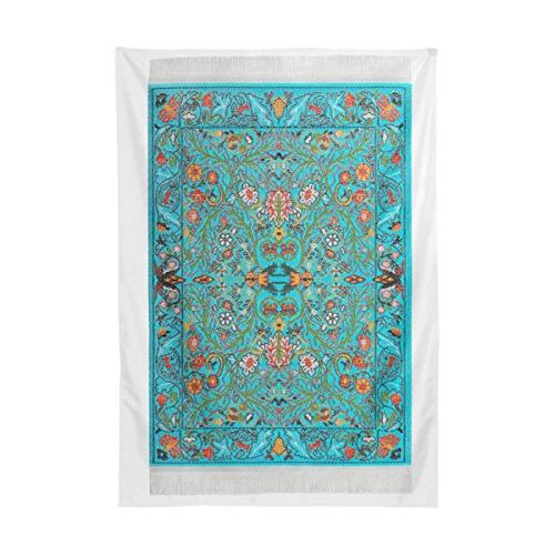 BAIHUISHOP Turquoise Tree Tablecloth Indoor Room Table Cloth Rectangle Party Tablecloths Parties Table Inch