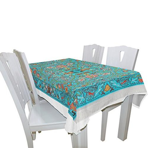 BAIHUISHOP Tablecloth Indoor Outdoor Room Rectangle Party Tablecloths for Parties Table Inch