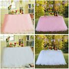 Tutu Tulle Table Cloth Cover Table Skirting Tableskirt Weddi