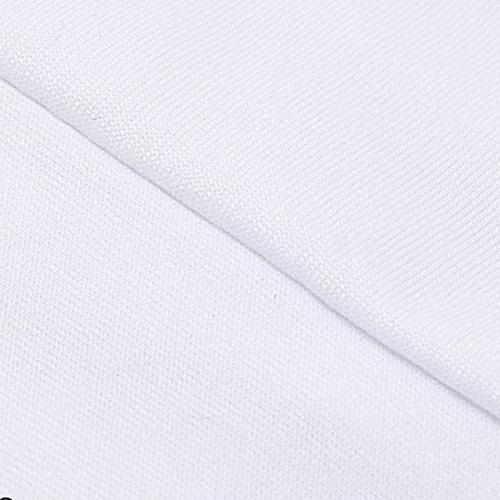 PCS White Color Polyester Spandex Covers,Modern Stretchy Slipcover Banquet Decoration Front