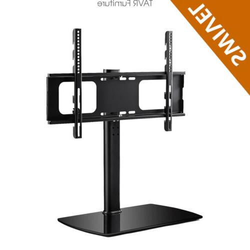 universal swivel tv stand base tabletop tv