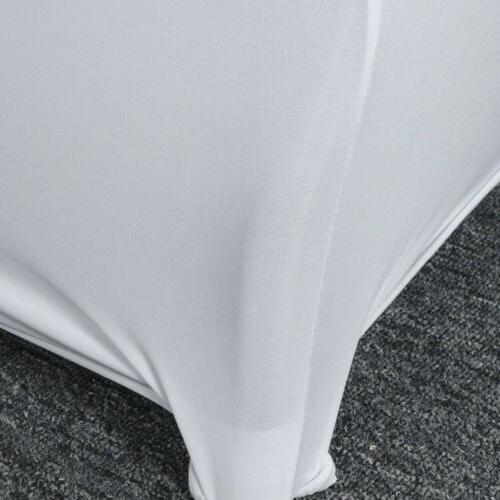 US 4/6/8ft Tablecloth Table Wedding Party