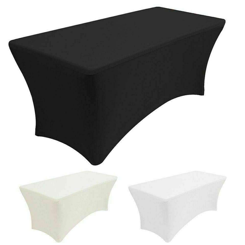us 4 6 8ft stretch spandex tablecloth