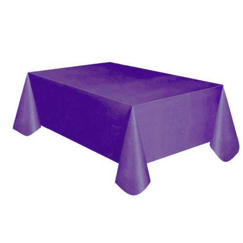 Plastic Cloth Table Home Decor Tablecloth