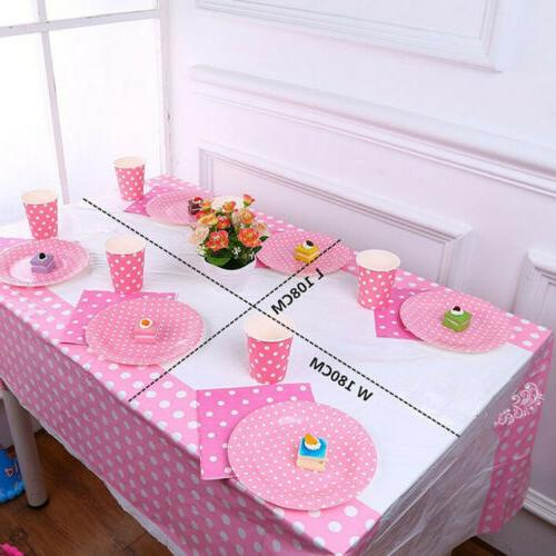 US Rectangle Dot Table Wedding Party Banquet