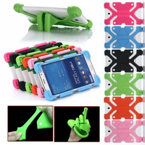 Safe Soft Silicone Stand Case Cover  For Samsung Galaxy Tab