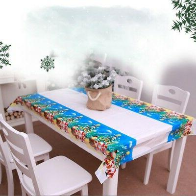 US Waterproof Oil Proof PVC Table Cloth Cover Home Kitchen T