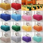 Useful Rectangle Tablecloth Table Cloth Cover Banquet Weddin