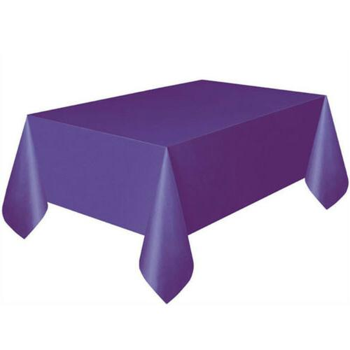 Useful Rectangle Cover Party Home