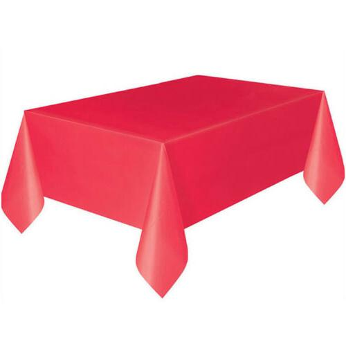 Useful Rectangle Tablecloth Cover Party Decor
