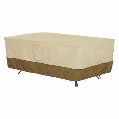 veranda rectangle oval patio table cover