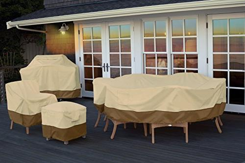Classic Accessories Patio Table Durable and Patio