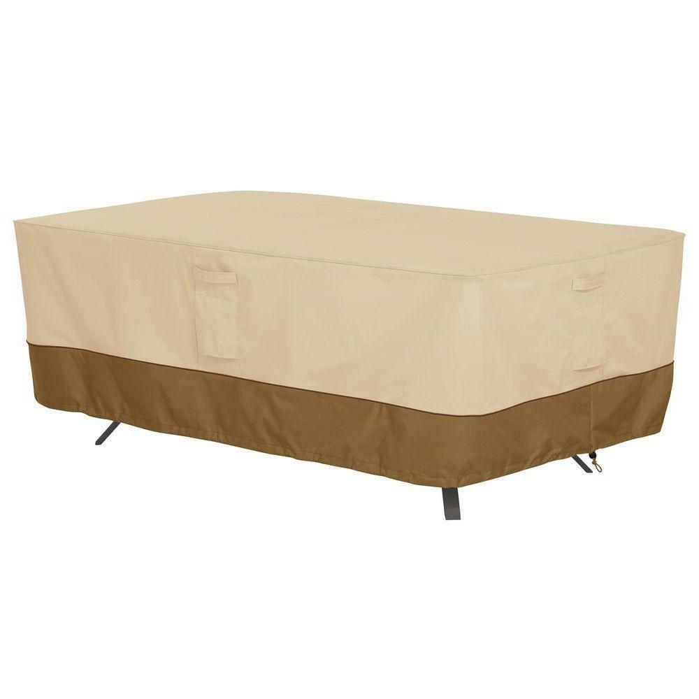 veranda rectangular oval patio table