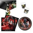 STAR WARS VILLIANS PARTY PACK 8 GUESTS: 1 TABLE COVER 8 CUPS