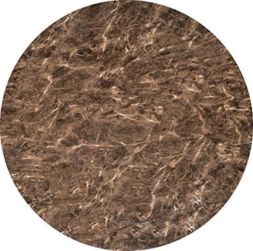 vinyl round marble