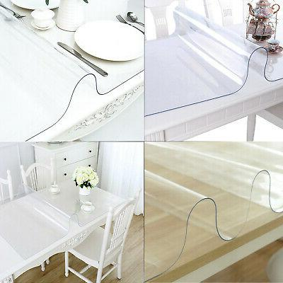 Waterproof Clear Tablecloth Table Cover