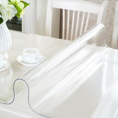 PVC Clear Table Cover Protector Waterproof