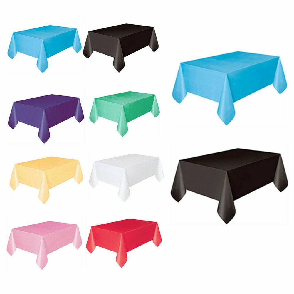 Waterproof Disposable Tablecloths Oil-proof Table Covers Out