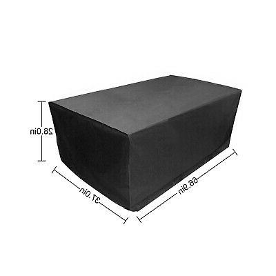 Waterproof Furniture Covers Rectangle Table Rain Cover