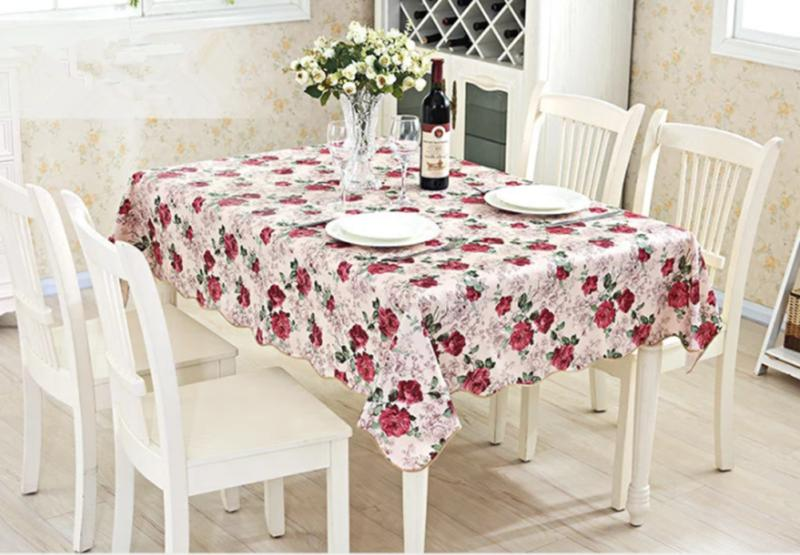 Waterproof Table Cloth Home Dining Tablecloth