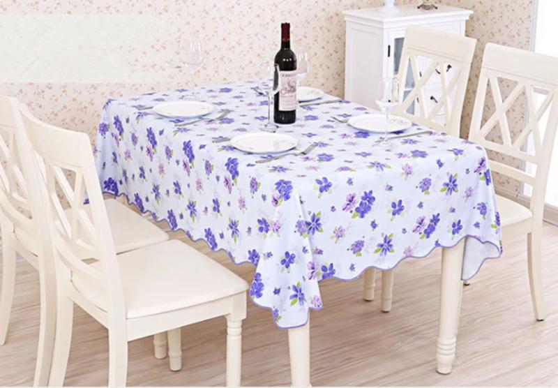 Waterproof Table Cloth Cover Home Dining Decor