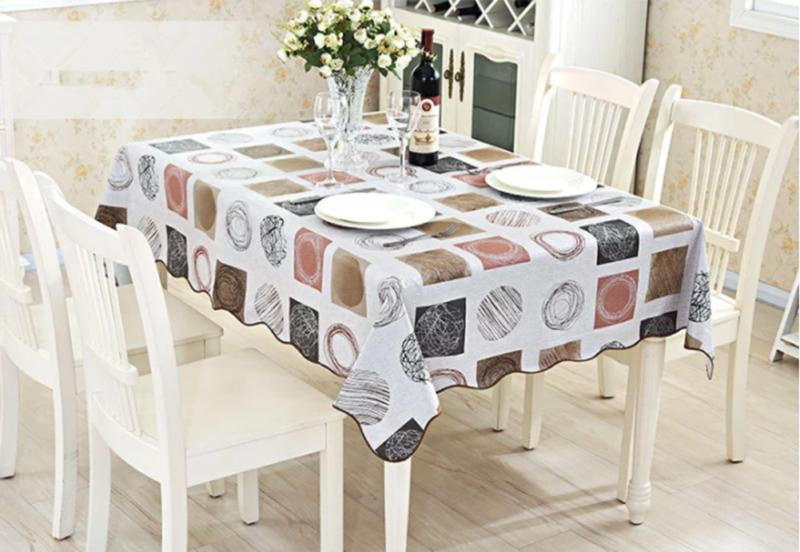 Waterproof Oil PVC Table Cloth Home Dining