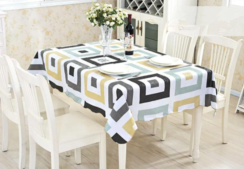 Waterproof Oil Table Cloth Cover Home Dining Kitchen Tablecloth