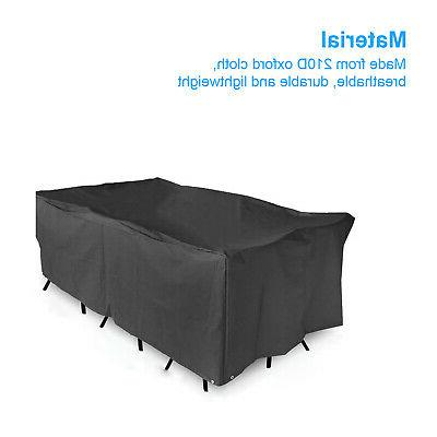 Waterproof Garden Covers Rectangle Outdoor Table Rain
