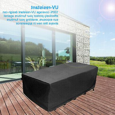 Waterproof Garden Patio Furniture Covers Rain Cover