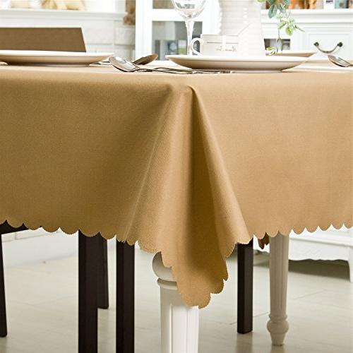 """OstepDecor Waterproof Polyester Table Home Solid - 60"""" x"""