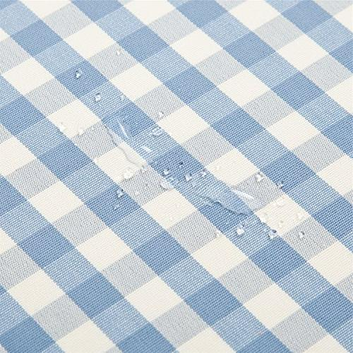 """OstepDecor Waterproof Tablecloth 100% Polyester Indoor/Outdoor Table Cloth Cover Dinner - 52"""""""