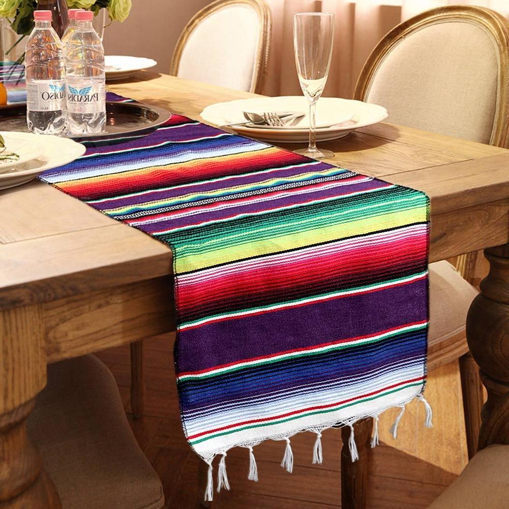 Wedding Table Mexican Runner Tablecloth