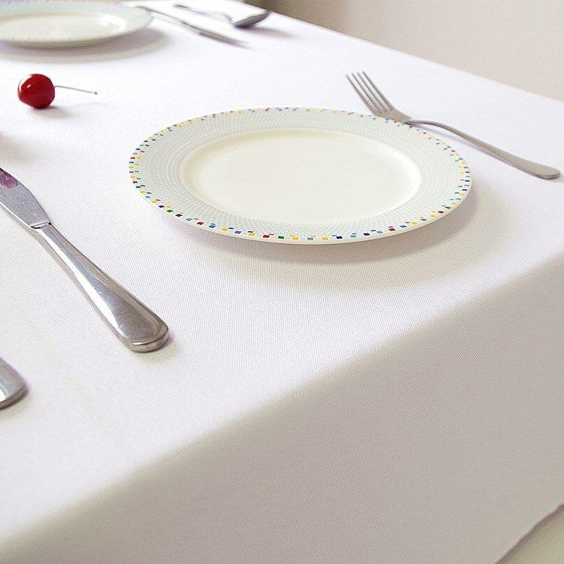 BULK Table Cover Thick Rectangle White