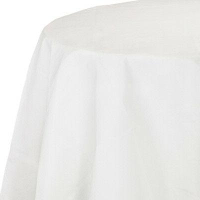 white tissue poly octy round