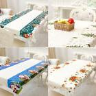 Wipe Clean PVC Vinyl Tablecloth Dining Kitchen Table Cover P