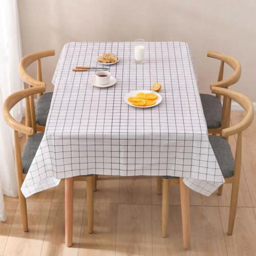 Wipe Clean Waterproof For Kitchen Dining