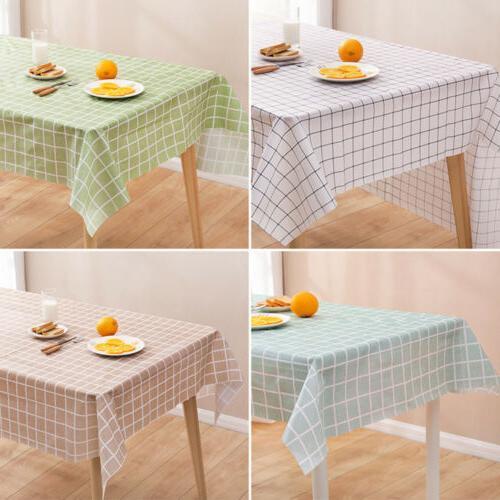 Wipe Clean Table Waterproof For