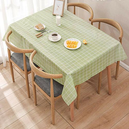 Wipe Table Waterproof Cover For Kitchen Dining