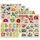 Wooden Animal Letter Puzzle Jigsaw Early Learning Educationa