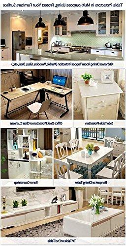 """Large Wipeable Protective PVC Desk Dining Tabletop Office High Chair 36"""""""