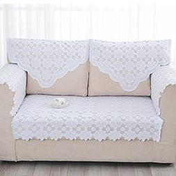 yazi Lace Sofa Back Covers Table Sofa Doily 25 inch by 29 1/