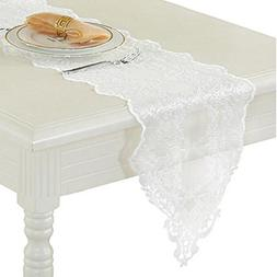 George Jimmy Lace Table Runner Piano Cover Cloth Wedding Tab