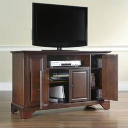 Crosley Furniture LaFayette 48-inch TV Stand - Vintage Mahog