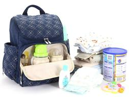 large capacity waterproof baby diaper bag mummy