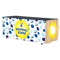 HIDEABOO - Lil' Biz Polyester Easy Lemonade Stand 6' Card